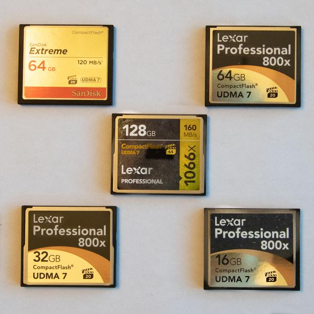 Compact Flash (CF) Cards
