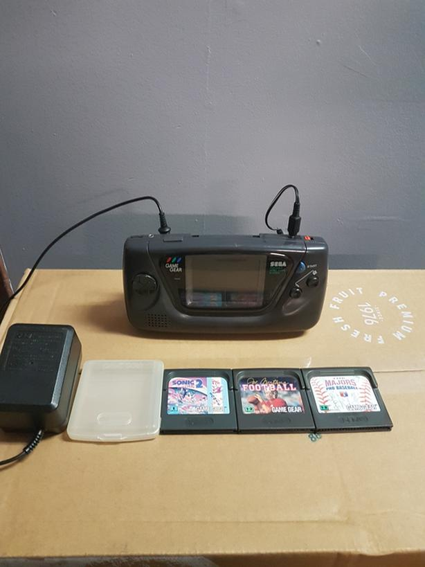 Sega Game Gear portable video game system