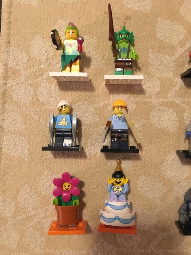 FOR TRADE: Minifigures Lego Movie, Collectible Series