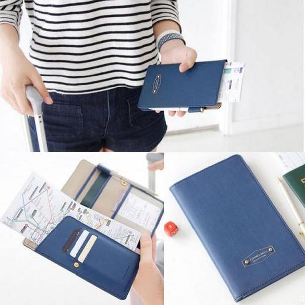 Brand New Multi-purpose Wallet Document Passport Holder