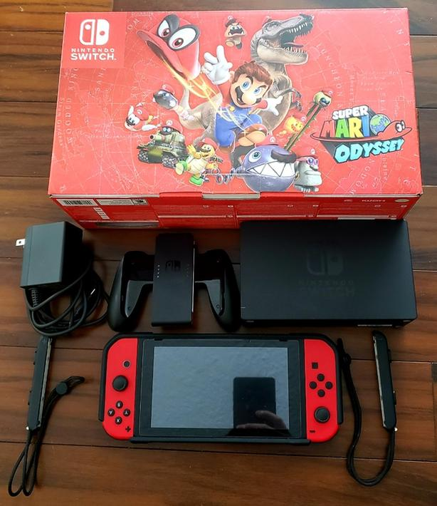 450 Nintendo Switch Super Mario Odyssey Bundle