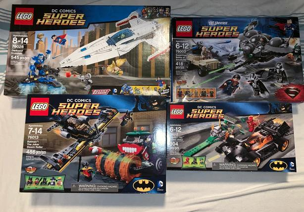 Retired Lego DC Comics Super Heroes Sets - BNIB