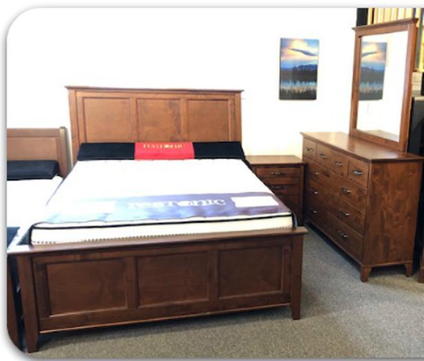 35% OFF! Queen Solid Wood 5-Piece Bedroom Suite