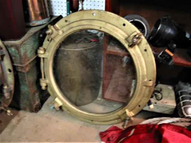 """24"""" cast iron portholes - RETIREMENT SALE"""