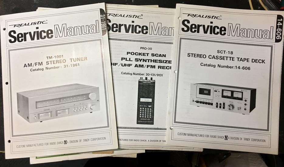 $35 · Electronic Service Manuals