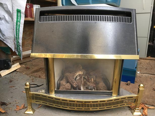 Gas Fireplace Valor Homeflame Super Outside Alberni