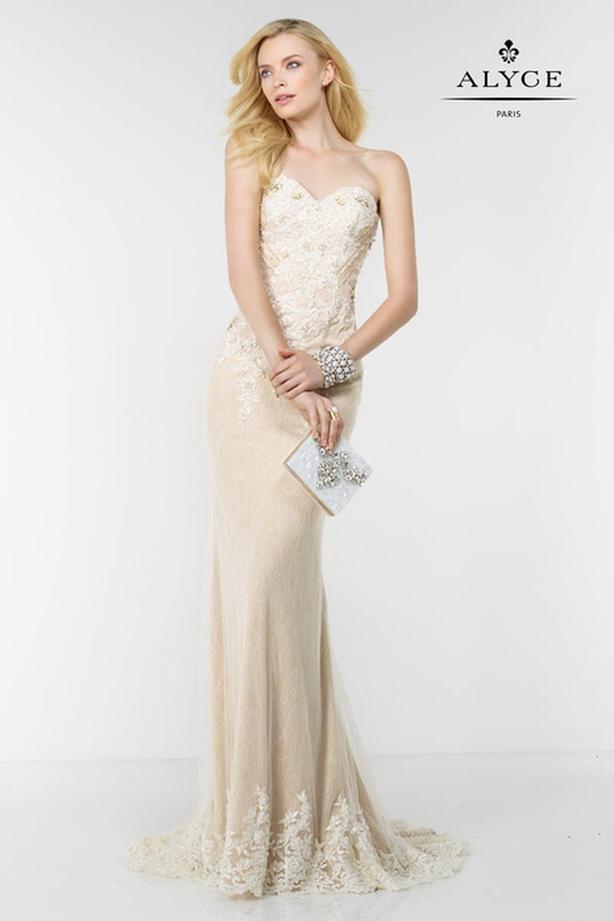Alyce Formal Wedding or Grad Dress