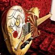 Hand painted guitars