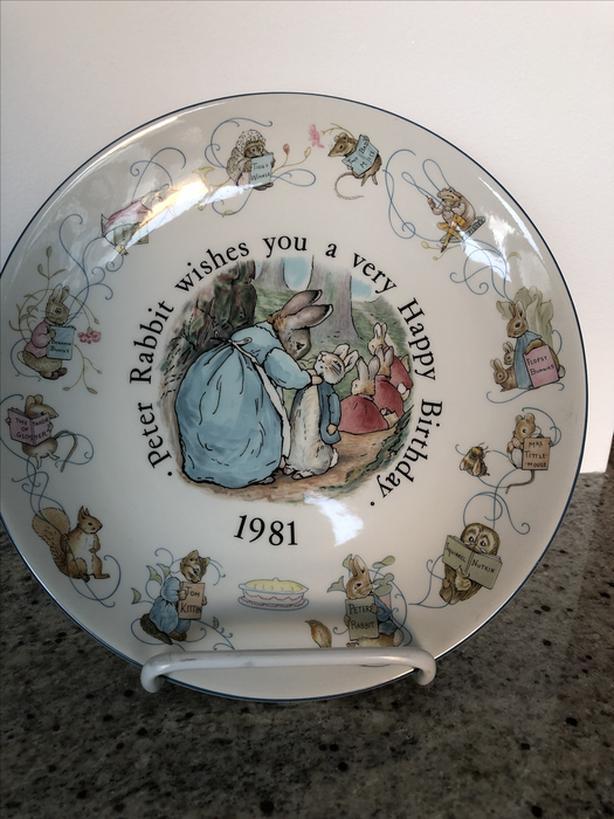 Vintage Wedgewood Peter Rabbit Plate