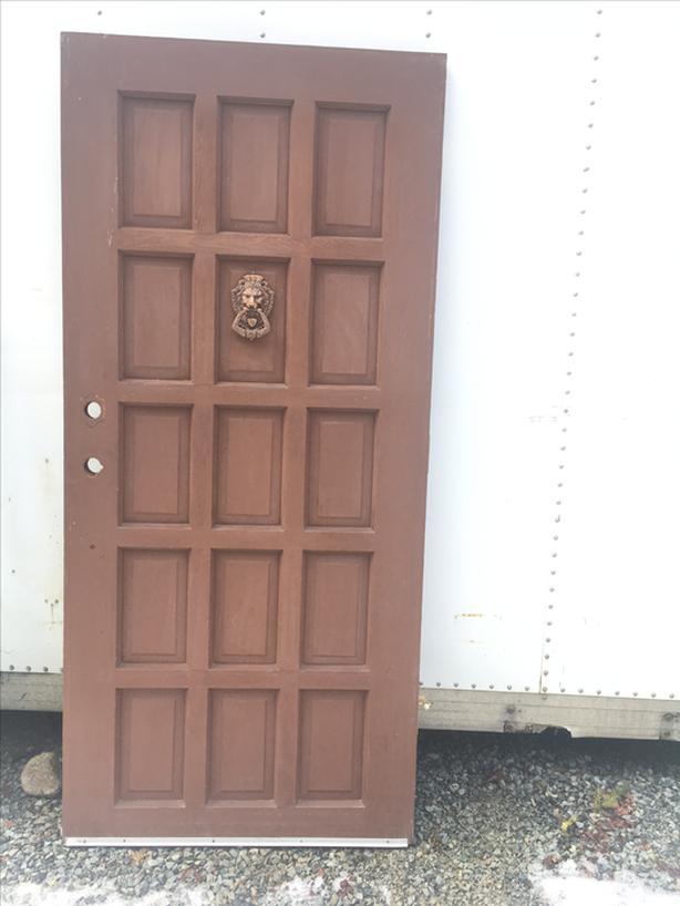 Exterior door 36x79.25 inch. Free delivery in Port Alberni