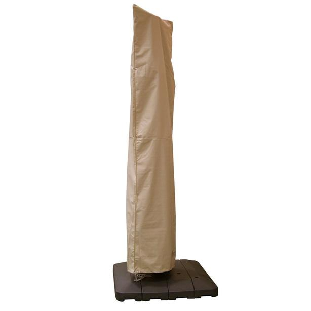 BUDGE Waterproof Offset Cantilever Patio Umbrella Cover - Taupe