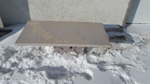 FREE: concrete coffee table