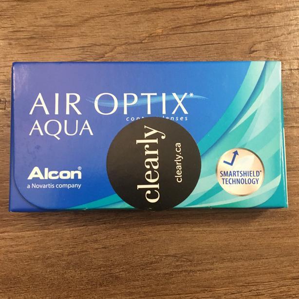Air Optix contact lenses (x7)