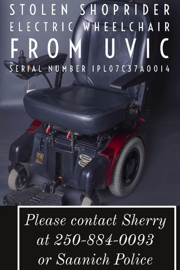 FREE: Stolen Powerchair