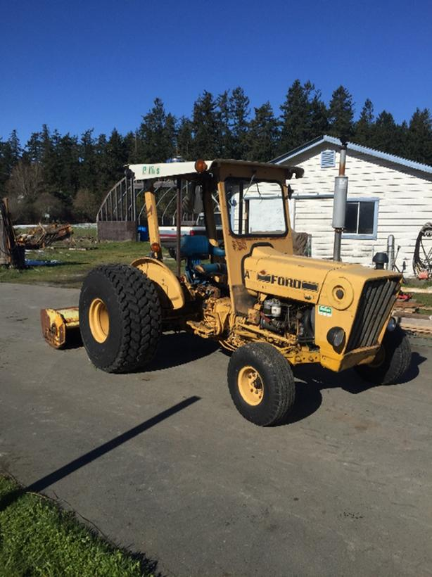 Ford 530 with 8' Flail mower Central Saanich, Victoria