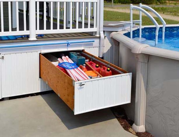 Price drop! Pylex deck storage drawer