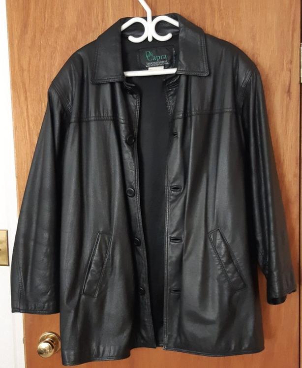 Di Capra Mens Leather Jacket