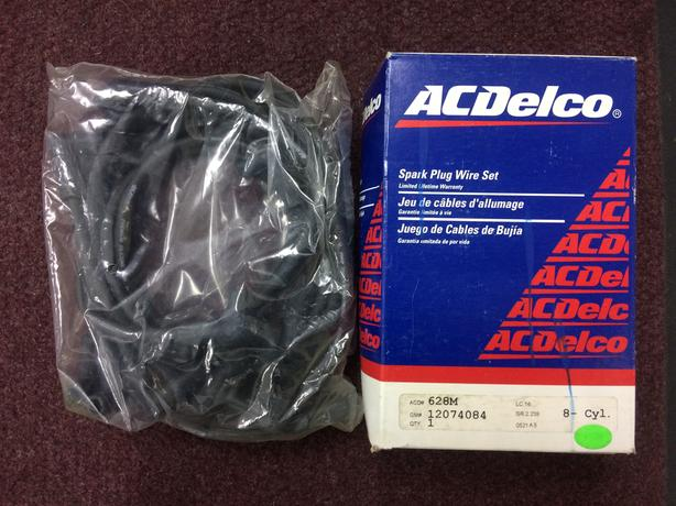 Chev AC Delco HEI Spark Plug Wire Set Esquimalt & View Royal ... Ac Delco Spark Plug Wire Set on