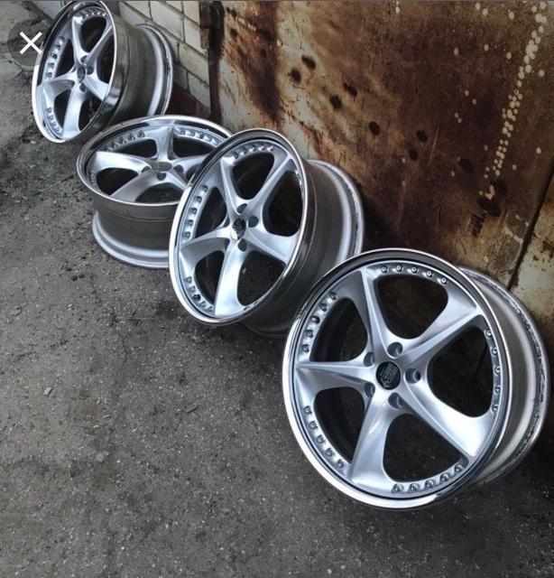 "JDM LEON HARDIRITT VERTU 5x114.3 20"" With brand new tires."