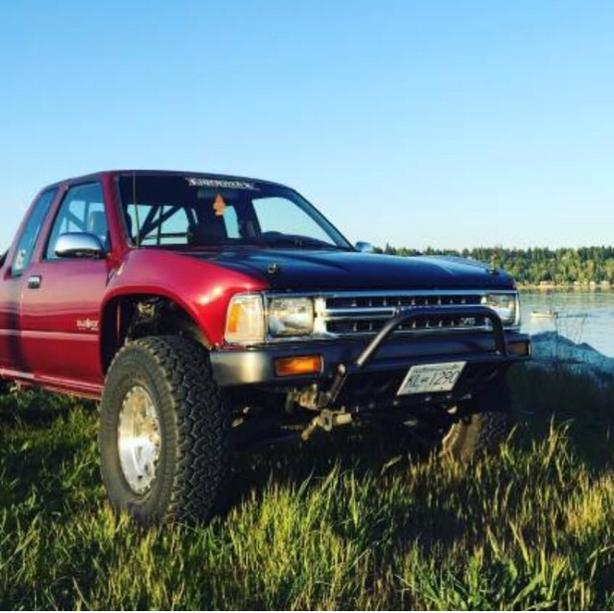 1990 toyota pickup project / part out 1uz r154 prerunner baja style