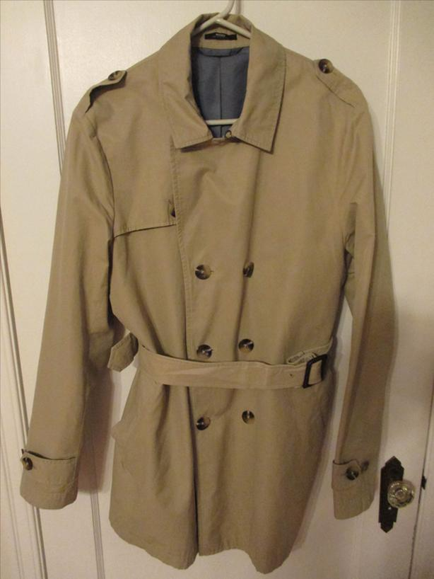 Mexx Men's Trench Coat