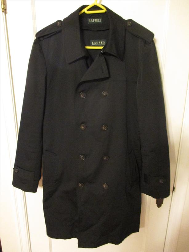 Ralph Lauren Men's Trench Coat