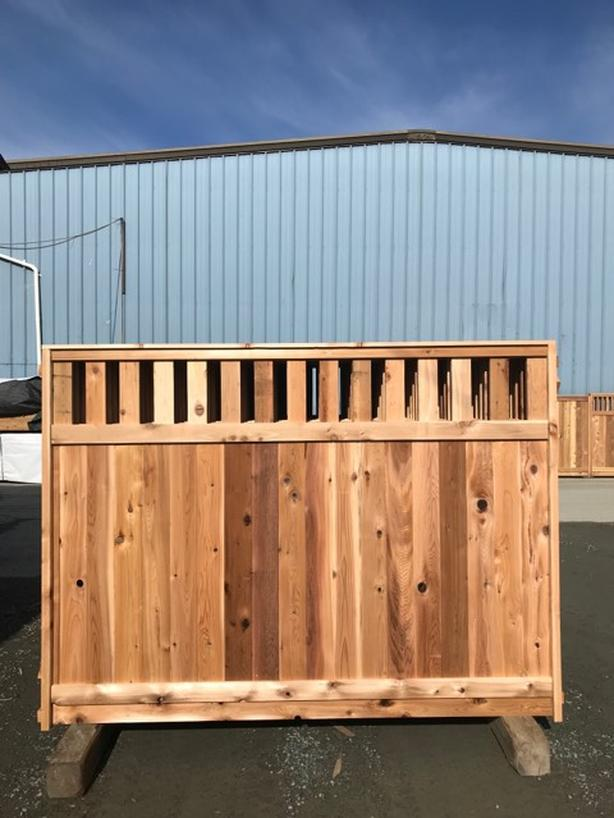Panel Sale Thickest Cedar Fence Panel Locally Built