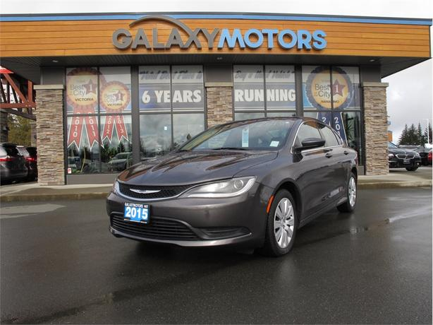Galaxy Motors Courtenay >> 2015 Chrysler 200 Lx Cruise Control Bc Only Courtenay