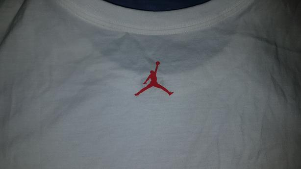 74e86d188bfc Jordan Brand Air Jordan 1 Chicago Ice Skate White T-Shirt Size XXL ...