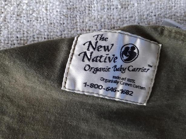 819129dcfdf New Native Organic cotton baby sling carrier - Khaki West Shore ...