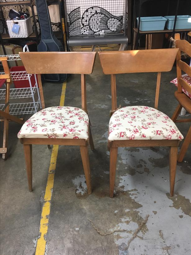 Solid Wood Framed Dining Chairs