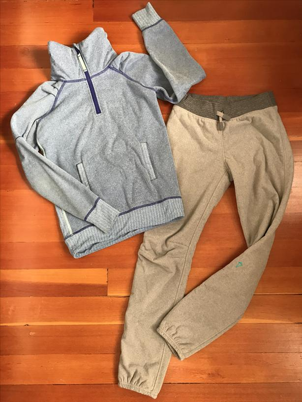 Ivivva Size 12 - Fleece Joggers, Tights and 2 Pullovers