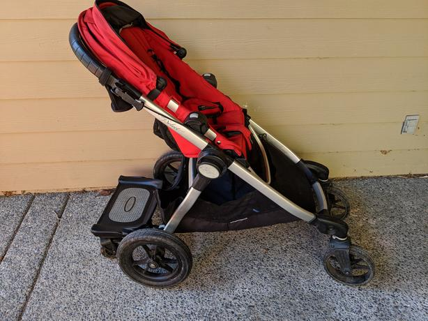 Log In Needed 400 Baby Jogger City Select Stroller With Glider Board