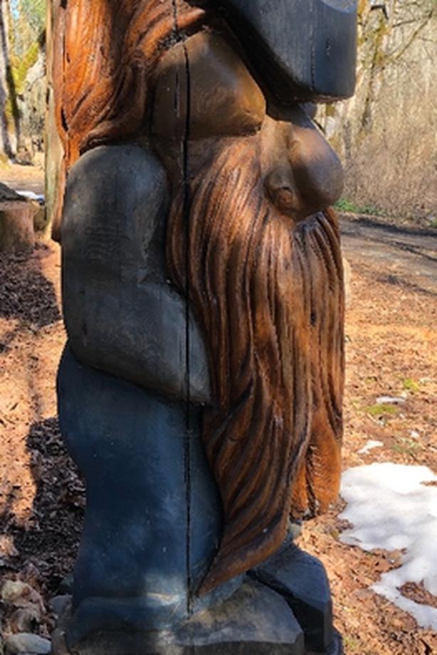 Cedar Carving