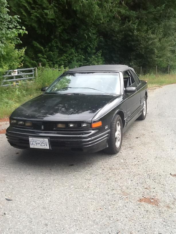 1994 oldsmolbile cutlass supreme convertible /trade for geo tracker or sidekick