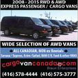 *VANS** 8 12 & 15 PASSENGER* 2O16-08 *AWD RWD* Express/ Savana /Ford/ RAM CARGO