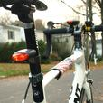 CYCLELITE Solar Powered LED Bicycle Bike Light Set