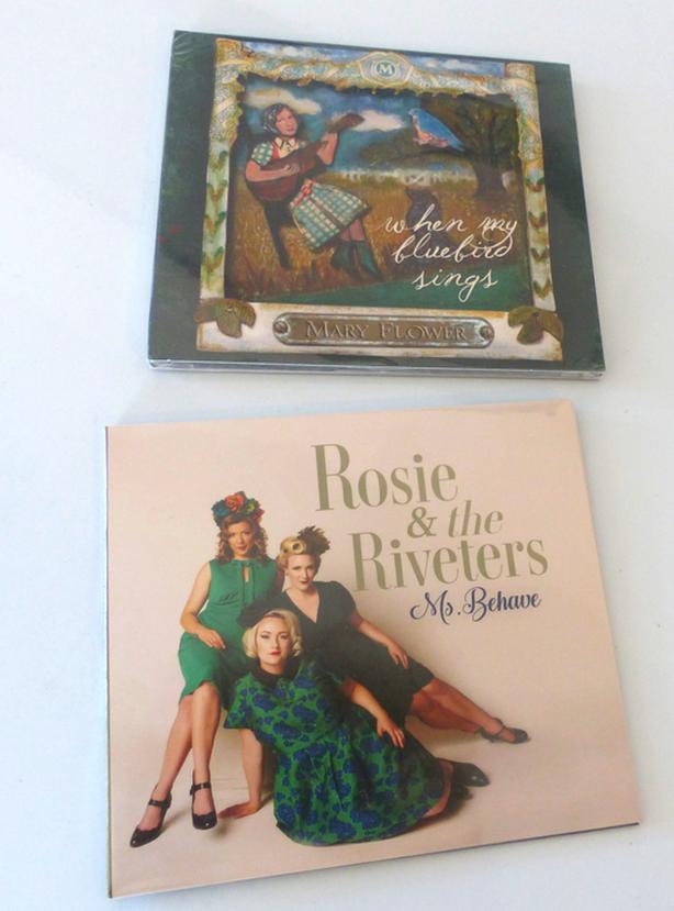 New in wrap: Rosie and the Riviters, Mary Flower,