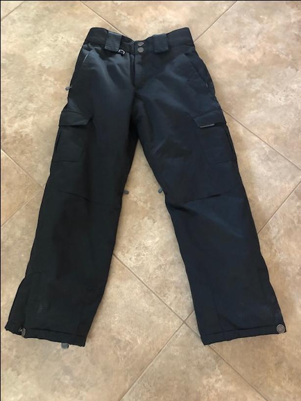 Youth Small Black Ski Pants