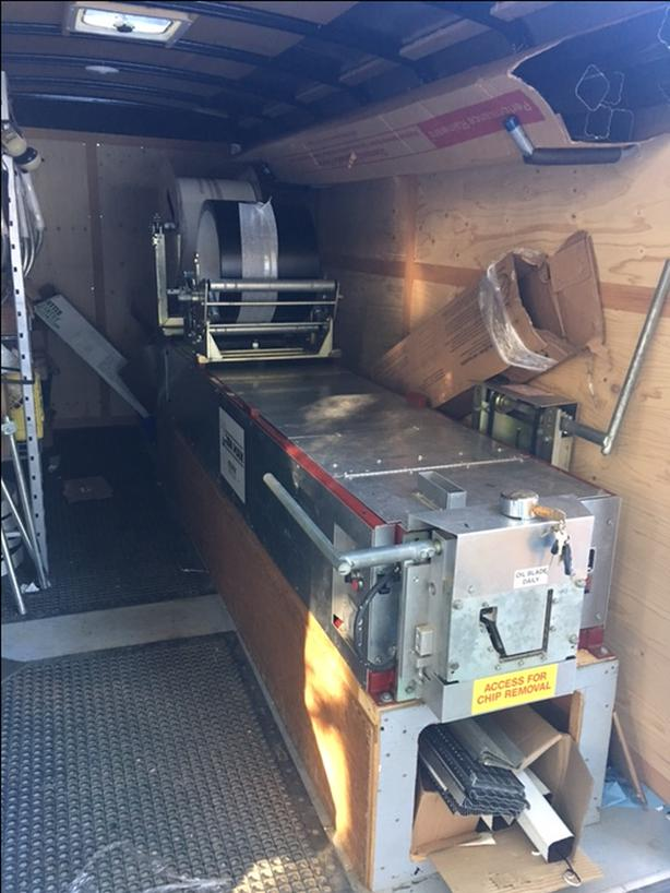 5/6 Gutter Machine Trailer and Stock