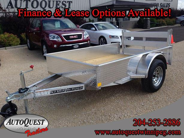2020 Stronghaul 5' X 8' Solid Side Aluminum Utility Trailer