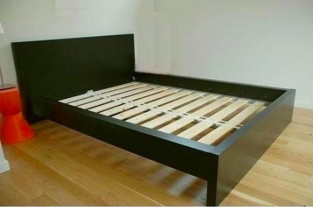 Verbazingwekkend Ikea double malm bedframe Saanich, Victoria QV-08