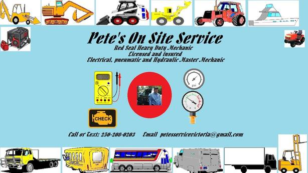 Petes ON Site Service Victoria