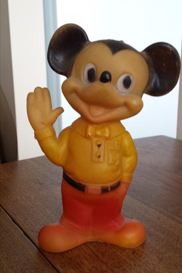 Mickey Mouse squeeze toy