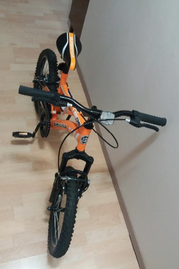 "Kid's Bike 16"" With Dual Suspension"