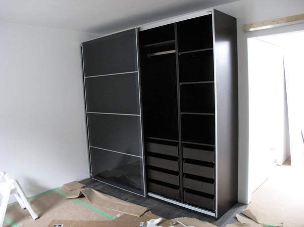 Stupendous Log In Needed 700 Ikea Pax Wardrobe With Glass Doors Download Free Architecture Designs Viewormadebymaigaardcom