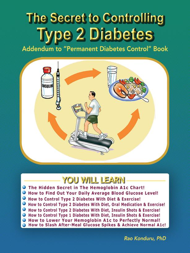 The Secret to Controllng Type 2 Diabetes (Book)