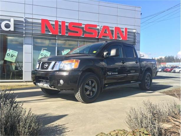 Nissan Campbell River >> 2014 Nissan Titan Pro 4x Campbell River Comox Valley
