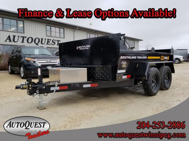 2019 Southland SL235T 6' x 10' Dump Trailer - 7,000 lbs