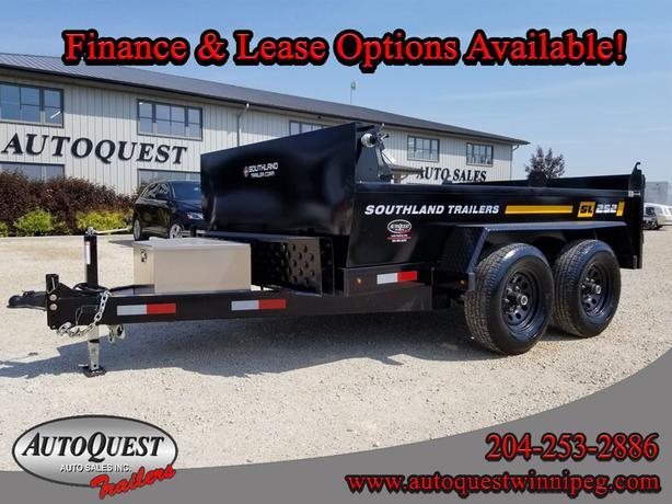 Southland SL252T 6' x 10' Utility Dump Trailer - 9,900 lbs